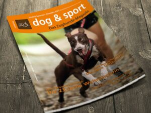 Cover dog & sport - Das Zughunde-Magazin 03/2015