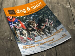 Cover dog & sport - Das Zughunde-Magazin 01/2016