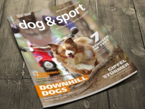 Cover dog & sport - Das Hunde-Outdoor-Magazin 03/2016